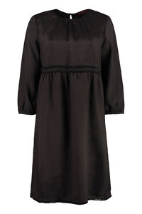 Vipera ramie dress, Knee Lenght Dresses Max Mara Studio woman