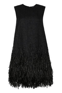 Fringed tweed dress, Mini dresses MSGM woman