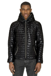 Acelocinque hooded down jacket, Down jackets Duvetica man