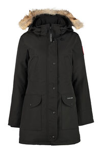 Trillium padded parka with fur hood, Down Jackets Canada Goose woman