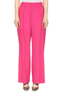 Crêpe wide-leg trousers, Wide leg pants Maison Jejia woman