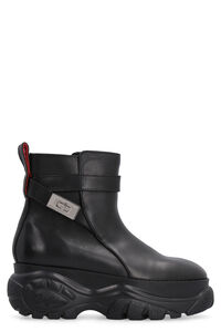 Jodhpur leather ankle boots x Buffalo, Ankle Boots 032c woman