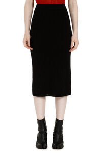 Jacquard knit skirt, Pencil skirts Fendi woman