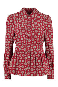 Printed silk blouse, Shirts MICHAEL MICHAEL KORS woman