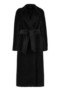Genarca alpaca blend coat, Faux Fur and Shearling Max Mara Studio woman