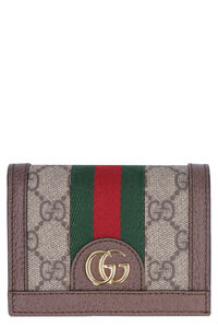 Ophidia GG Supreme fabric wallet, Wallets Gucci woman