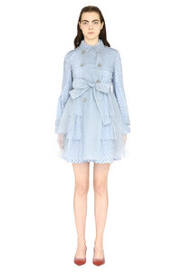 Tulle trench coat, Raincoats And Windbreaker Red Valentino woman