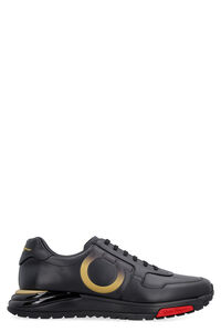 Gancini leather sneakers, Low Top Sneakers Salvatore Ferragamo man