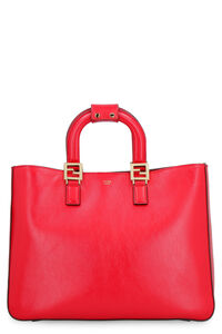 Medium leather tote, Tote bags Fendi woman