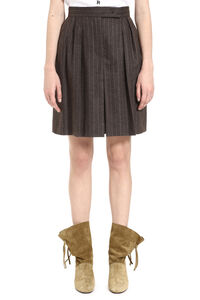Virgin wool and cashmere bermuda-shorts, Shorts Max Mara woman