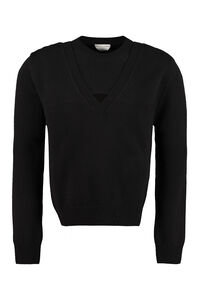 Wool pullover, Crew necks sweaters Bottega Veneta man