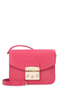 Metropolis leather mini crossbody bag, Shoulderbag Furla woman