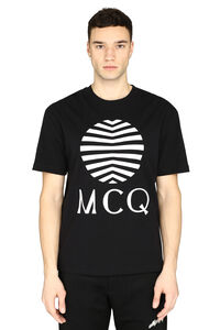 Crew-neck cotton T-shirt, Short sleeve t-shirts McQ Alexander McQueen man