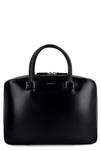 Leather handbag, Top handle Jil Sander woman