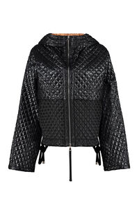 Citrine hooded full-zip down jacket, Down Jackets 2 Moncler 1952 woman