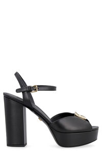 Leather sandals, High Heels sandals Dolce & Gabbana woman