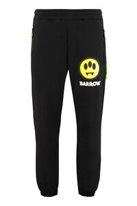 Logo detail cotton track-pants, What's new Barrow woman