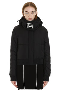 Down jacket with detachable hood, Down Jackets Off-White woman