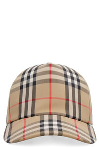 Vintage check baseball cap, Hats Burberry woman