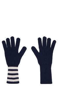 Cashmere knitted gloves, Gloves Thom Browne man