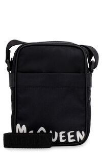 Nylon messenger-bag, Messenger bags Alexander McQueen man