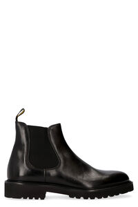 Leather Chelsea boots, Chelsea boots Doucal's man