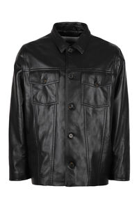 Cody leather jacket, Leather jackets Nanushka man