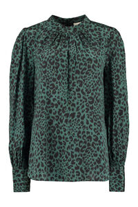Printed silk blouse, Blouses Zimmermann woman