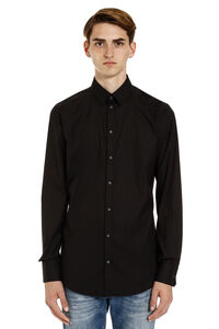 Stretch poplin shirt, Plain Shirts Dolce & Gabbana man