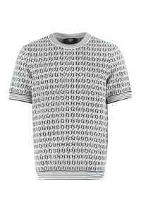 Knitted T-shirt, Short sleeve t-shirts Fendi man