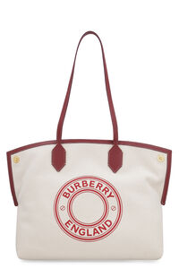 Society canvas tote, Tote bags Burberry woman