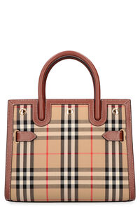 Title checked canvas handbag, Tote bags Burberry woman