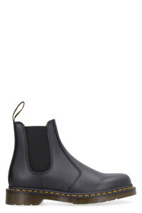 2976 leather ankle boots, Ankle Boots Dr. Martens woman