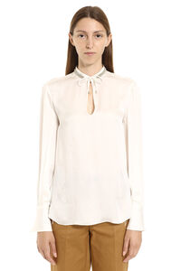 Silk satin blouse, Blouses Brunello Cucinelli woman