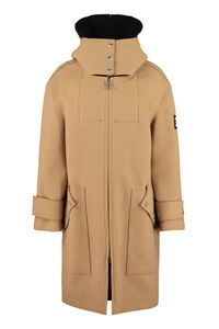 Hooded wool coat, Knee Lenght Coats Burberry woman