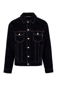 Velvet jacket, Denim jackets GCDS man