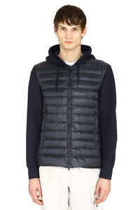 Padded panel hoodie, Down jackets Herno man