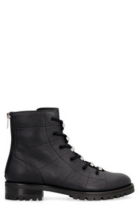 Bren leather combat boots, Ankle Boots Jimmy Choo woman
