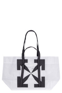 Tote bag in PVC, Tote Off-White man