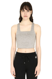 3x1 and Mimi Cuttrell - Cotton blend crop top, Tanks and Camis 3x1 woman
