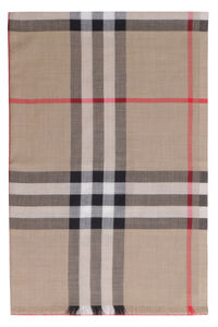 Wool and silk scarf, Scarves Burberry man