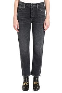 Tomcat cropped jeans, Straight Leg Jeans Mother woman