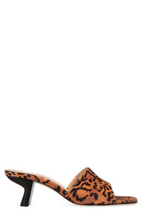 Lily printed suede mules, Mules by FAR woman