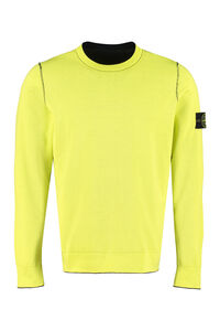 Reversible crew-neck sweater, Crew necks sweaters Stone Island man