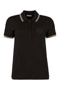 Cotton-piqué polo shirt, Polo shirts Moncler woman