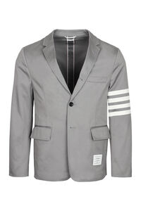 Cotton gabardine blazer, Single breasted blazers Thom Browne man