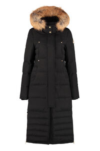 Ecoole long quilted parka, Down Jackets Moose Knuckles woman