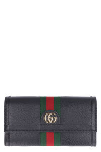Ophidia leather continental wallet, Wallets Gucci woman