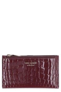 Sylvia logo leather wallet, Wallets Kate Spade New York woman