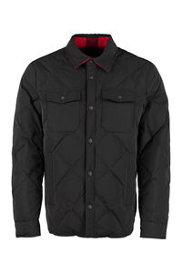 Rowland technical fabric overshirt, Raincoats And Windbreaker Woolrich man